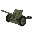 old green cannon vector image vector image