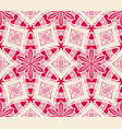 seamless abstract tiled pattern vector image vector image