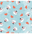 seamless pattern for valentine s day or the day vector image