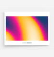 abstract blurred color background modern screen vector image