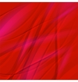 Abstract Red Wave Background vector image vector image