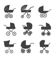 bastroller icons vector image