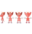 Cartoon Character of Devils for Computer Game vector image vector image