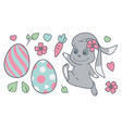 easter mix vector image
