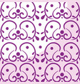 elegant victorian style background vector image vector image