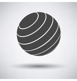 Gray Single finess vector image vector image