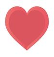 heart love happy romance symbol design vector image vector image