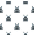 paintball vest pattern flat vector image vector image