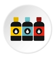 Printer ink icon flat style vector image