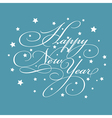 Decorative New Year background vector image vector image