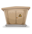 electrical cabinet vector image