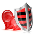 Love is Protected Concept vector image vector image