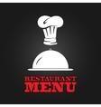 Restaurant menu design poster vector image vector image