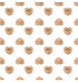 seamless background from a set of cardboard boxes vector image vector image