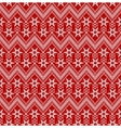 Seamless Christmas red background vector image vector image