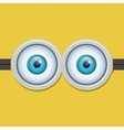 Two eyes glasses or goggles vector image