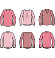 womens blouse vector image vector image