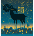 year goat vector image