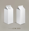 packaging isolated on a beige background vector image