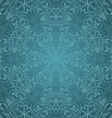 Abstract pattern in cyan vector image