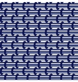 Abstract seamless blue pattern of horizontal vector image vector image