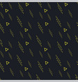 black yellow seamless background pattern vector image vector image