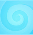 bright swirl in blue colors vector image vector image