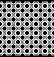 circles seamless pattern old style fashion vector image