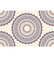 Ethnic Aztec circle ornament seamless pattern vector image vector image
