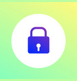 lock padlock security protection icon vector image