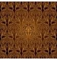 Seamless Pattern BackgroundDamask Wallpaper vector image vector image