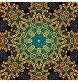 Seamless psychedelic paisley background vector image