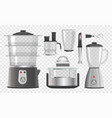 various kitchen instruments vector image