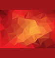 Abstract red tone low polygon background