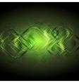 Elegant green backdrop vector image