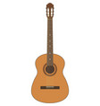 guitar acoustic music vector image