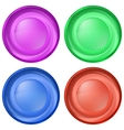 icons buttons set vector image vector image
