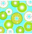 kiwi fresh summer pattern vector image vector image