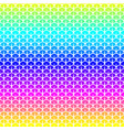 scales seamless pattern in rainbow colors vector image