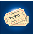set eleven tickets and coupons templates vector image