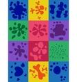 Set Of Blots vector image vector image