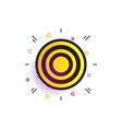 target aim sign icon darts board symbol