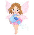 Watering Fairy vector image vector image