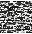 cars motion - seamless background vector image vector image