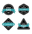 Collection of sale label stickers vector image vector image