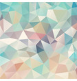 composition with triangles geometric shapes vector image vector image