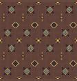 geometric ethnic seamless pattern vector image vector image