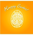 Greeting card for Easter holidays vector image