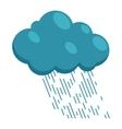 Heavy rain icon in cartoon style vector image vector image