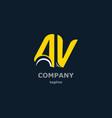 letter decorative symbols for design vector image vector image